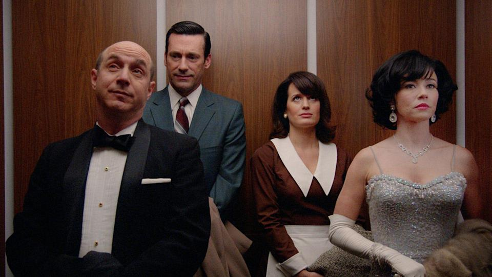 <p> <strong>Number of episodes:&#xA0;</strong>92 </p> <p> Mad Men,<em>&#xA0;</em>created by Sopranos<em>&#xA0;</em>writer Matthew Wiener, is often hailed as a landmark moment for TV. If you missed it the first time, though, it&#x2019;s never too late. Set at a fictional advertising agency in New York in the 1960s, Mad Men centres around the misbehaviours of one Don Draper (Jon Hamm), a handsome creative director who just loves to drink and shag around. He does, of course, have a sympathetic back story. </p> <p> Mad Men<em>&#xA0;</em>is well-written, funny, and beautifully shot. The complexities of everyone&#x2019;s interpersonal and professional dramas will get you invested, and, as the show goes on, the character development is a valuable payoff for your time. By the time you&#x2019;ve finished, though, you might have developed quite a Scotch habit trying to emulate Jon Hamm. </p>