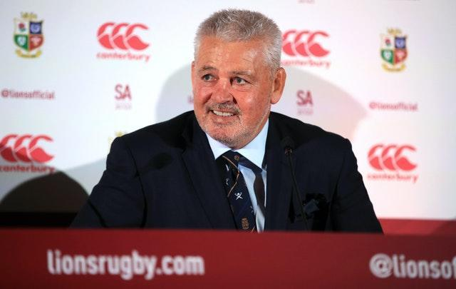 British and Irish Lions head coach Warren Gatland will take charge of the squad for third successive tour