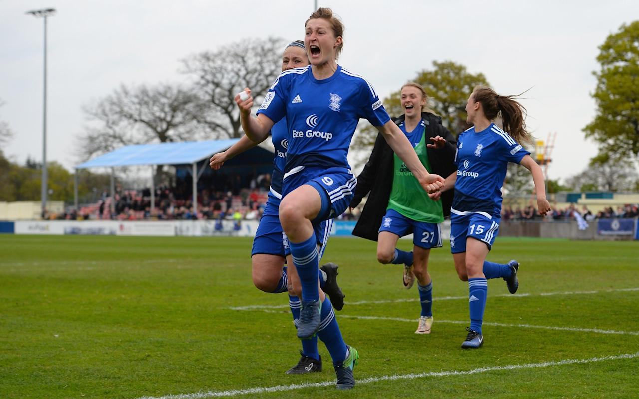 Women's FA Cup final: No money? No problem, says Birmingham City's Ellen White