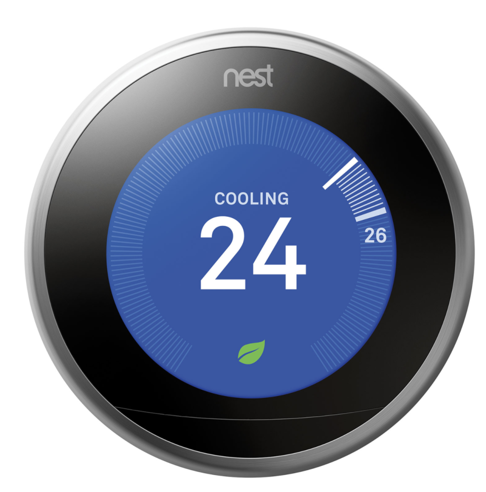 Google Nest Wi-Fi Smart Learning Thermostat 3rd Generation (Photo via Best Buy Canada)