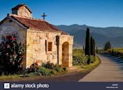 """<p>On 171 acres near one of California's oldest vineyards, fourth-generation winemaker Dario Sattui opened <a href=""""https://castellodiamorosa.com/home/"""" rel=""""nofollow noopener"""" target=""""_blank"""" data-ylk=""""slk:Castello di Amoroso"""" class=""""link rapid-noclick-resp"""">Castello di Amoroso</a> in an authentically styled 13th-century Tuscan castle. Completion of the 121,000-square-foot structure, which contains 107 rooms and four levels above and four levels below ground, required more than 8,000 tons of hand-chiseled local stone, nearly one million antique bricks imported from Europe, and more than 200 containers of antique furnishings shipped from overseas.<br></p><p>Self-guided tours and tastings, as well as guided tours and premium tastings, are available. Reservations are required for groups larger than 14 people. </p>"""