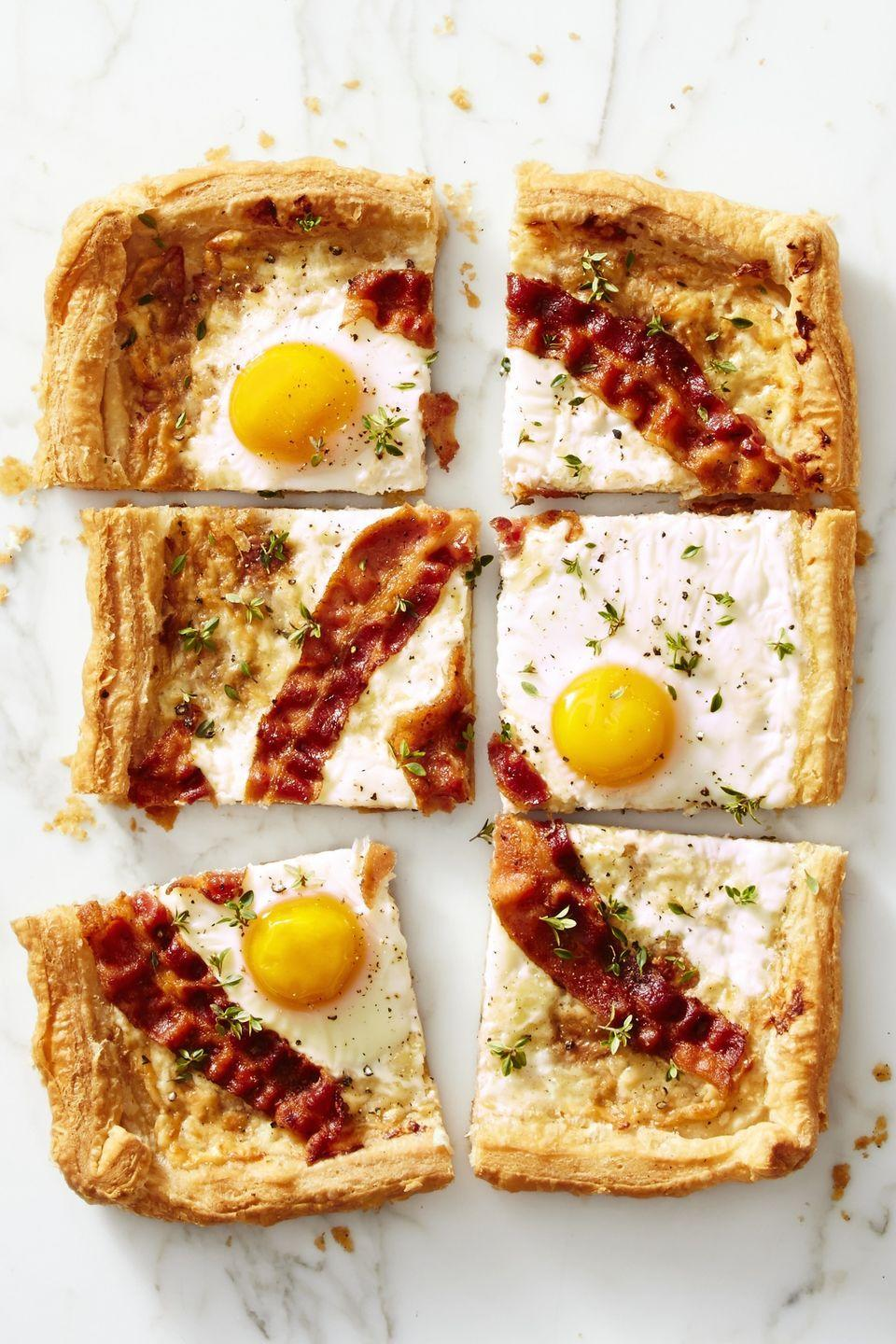 "<p>It's pizza for breakfast, only flakier. </p><p><em><a href=""https://www.goodhousekeeping.com/food-recipes/easy/a42425/bacon-gruyere-breakfast-pie-recipe/"" rel=""nofollow noopener"" target=""_blank"" data-ylk=""slk:Get the recipe for Bacon Gruyére Breakfast &quot;Pie&quot; »"" class=""link rapid-noclick-resp"">Get the recipe for Bacon Gruyére Breakfast ""Pie"" »</a></em></p>"