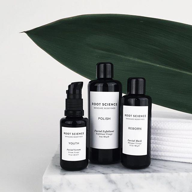 """<p>Don't be fooled by the inky-black packaging, Roots Science is all about the glow...and achieving it organically. Their hallmark of their made-in-Cali elixirs? Cold-pressed organic oils chock full of antioxidants, vitamins, and minerals with extreme healing properties. Think of their serums and exfoliants like superfoods you can slather all over your body.</p><p><br></p><p><strong>The Must-Try: </strong>Root Science Youth Facial Serum, $50-$120; <a rel=""""nofollow"""" href=""""https://www.shoprootscience.com/shop/youth-face-serum"""">shoprootscience.com</a>.</p>"""