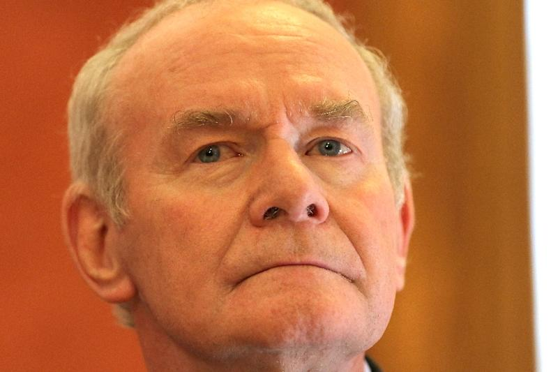 Sinn Fein's former deputy first minister Martin McGuinness died on March 21, 2017
