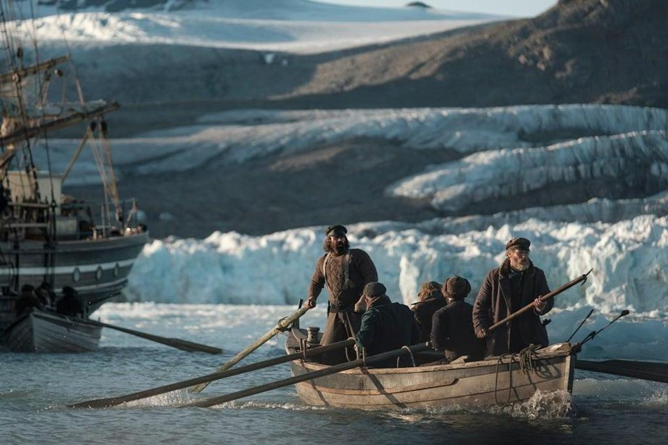 The series was filmed on location in the Arctic (BBC/See-Saw Films/Nick Wall)