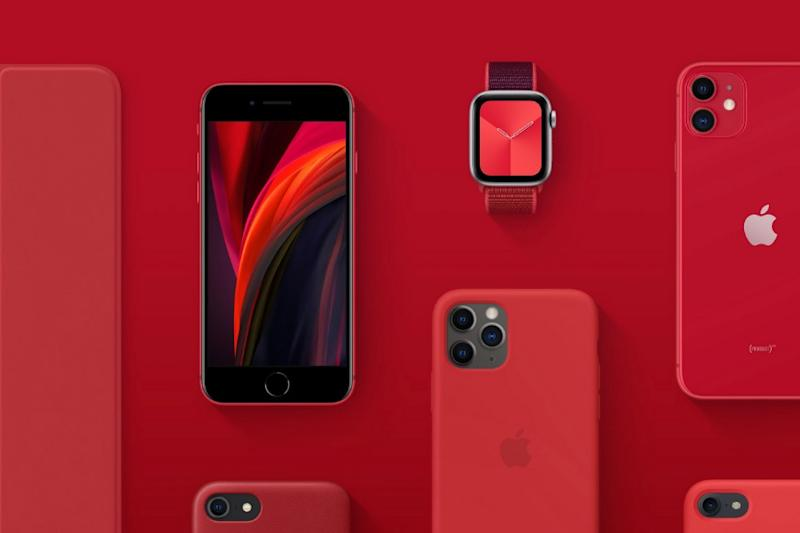 Apple is Arming (PRODUCT)RED in The Fight Against COVID, The New iPhone SE Plays a Big Role