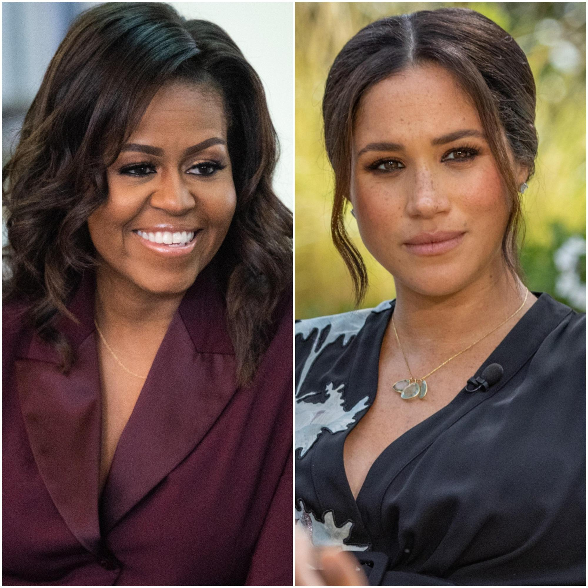 Michelle Obama Has Some Thoughts About Meghan Markle's Oprah Interview... image