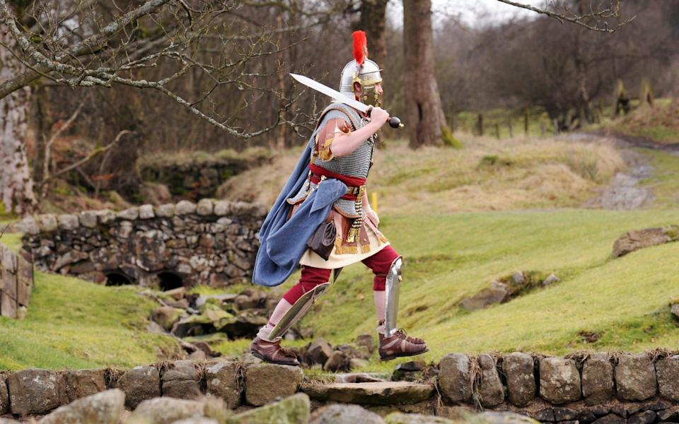 Scotland has been trying harder to showcase its Roman history - Alamy