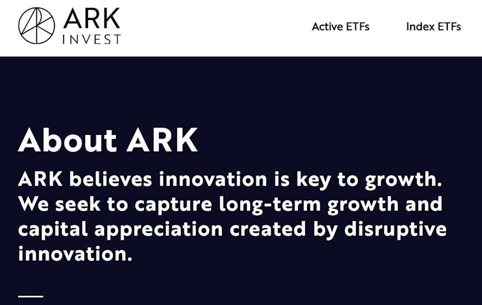 ARK Innovative ETF 近一年回報達160%