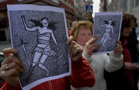 Protests held across Spain after five men cleared for Pamplona gang rape