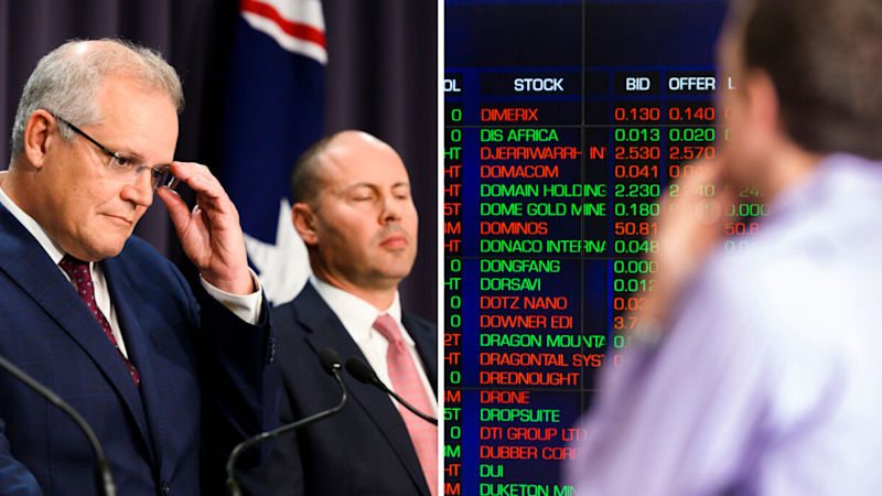 Australia's plan to rescue the economy is a little too slow, too small. Source: Getty