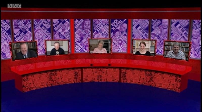 The set of Have I Got News For You as depicted in this week's episode (Photo: BBC)