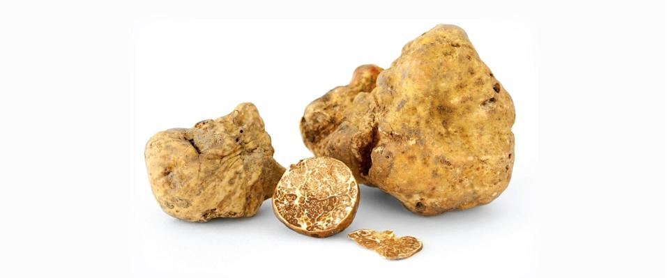 White truffles come from Italy's Piedmont district.