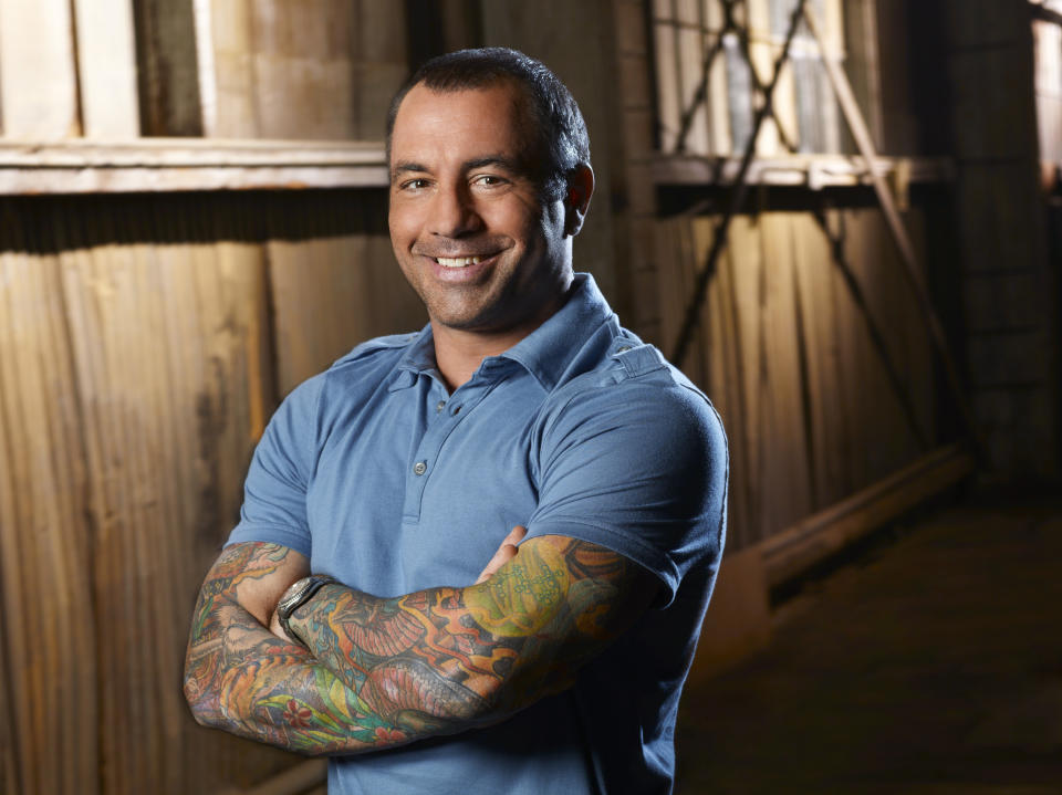 FEAR FACTOR -- Pictured: Host, Joe Rogan -- (Photo by: Chris Haston/NBCU Photo Bank/NBCUniversal via Getty Images via Getty Images)