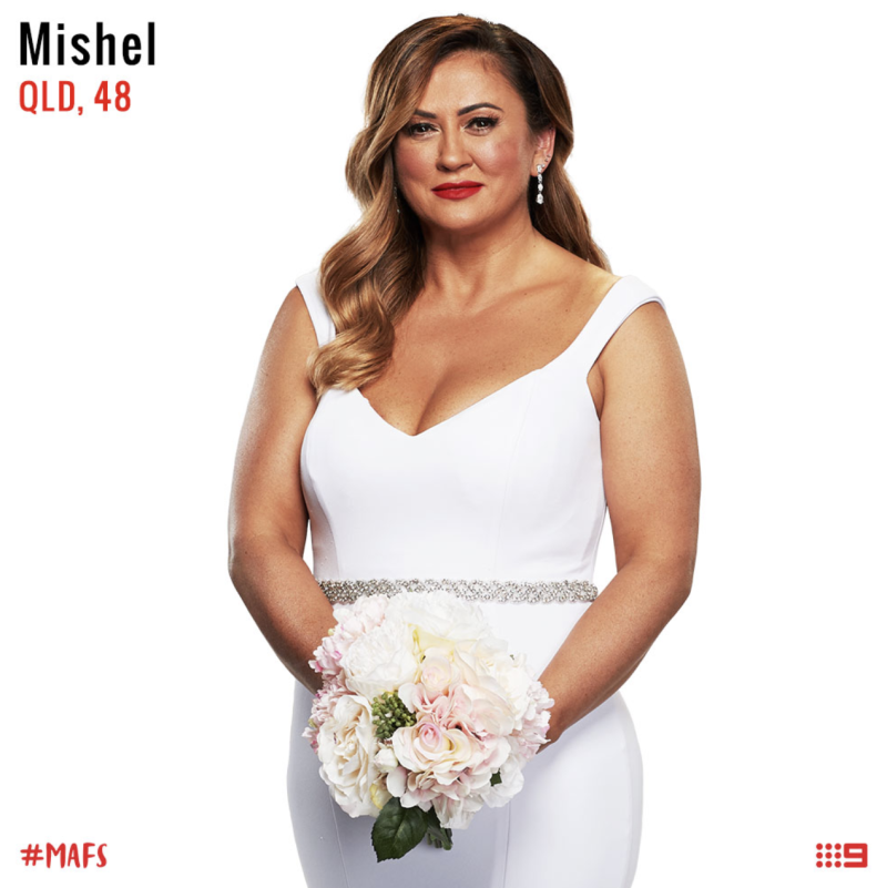 married at first sight bride Mishel meshes