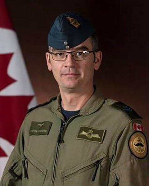 Master Cpl. Matthew Cousins, an airborne electronic sensor operator originally from Guelph, Ontario, is shown in a Department of National Defence handout photo. (THE CANADIAN PRESS/HO-Department of National Defence)