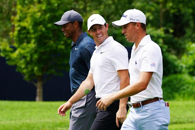 On Monday the Genesis Open announced that Tiger Woods will play with Rory McIlroy and Justin Thomas in the opening rounds.
