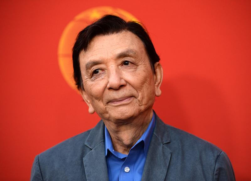 "PASADENA, CALIFORNIA - NOVEMBER 10: Actor James Hong arrives at the opening night of ""The Great Leap"" at The Pasadena Playhouse on November 10, 2019 in Pasadena, California. (Photo by Amanda Edwards/Getty Images)"