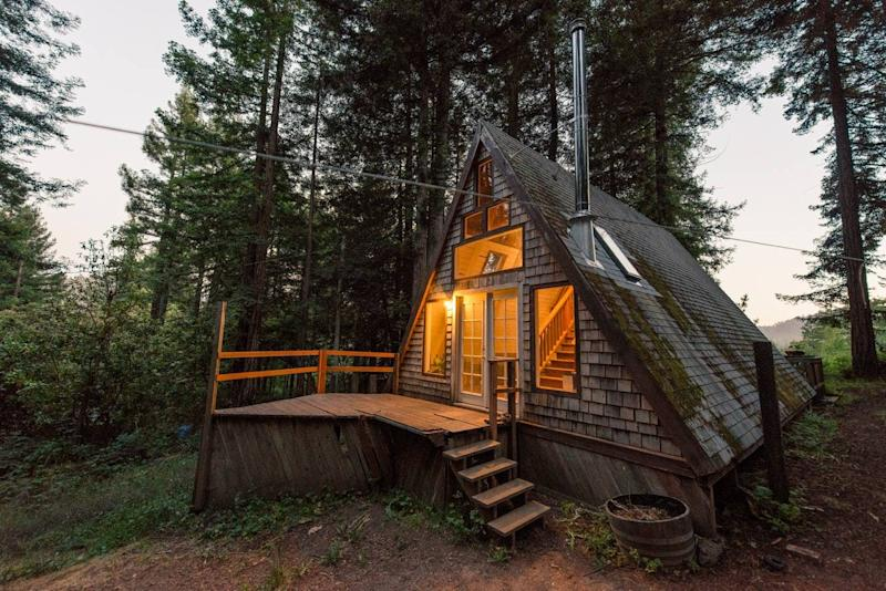 airbnb a frame cazadero