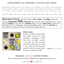 """<p>maggielouiseconfections.com</p><p><strong>$42.00</strong></p><p><a href=""""https://www.maggielouiseconfections.com/collections/gourmet-chocolate-gifts/products/cocktails-and-caviar"""" rel=""""nofollow noopener"""" target=""""_blank"""" data-ylk=""""slk:BUY NOW"""" class=""""link rapid-noclick-resp"""">BUY NOW</a></p><p>Say thanks for putting up with all your sh*t with these fancy shmancy chocolates.</p>"""