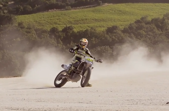 Valentino Rossi invites you to experience his homemade racetrack