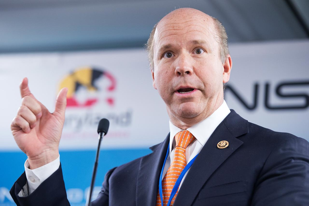 "<a href=""https://www.rollcall.com/video/john_delaney_is_running_for_president_here_are_some_congressional_basics"" target=""_blank"">Delaney</a>, a 55-year-old businessman and former Maryland Congressional representative, has been running for president almost as long as President <a href=""https://people.com/tag/donald-trump"" target=""_blank"">Donald Trump</a> has been in office: He announced his campaign in July 2017, <a href=""https://www.wbur.org/hereandnow/2019/02/08/john-delaney-2020-presidential-election"" target=""_blank"">according to Bostion radio station WBUR</a>.  Hillary Clinton's surprising loss ""made me say, 'We have to think differently about everything,' "" Delaney, a Democrat who left office earlier this year, told WBUR. ""We really need to move to a bit of a post-partisan world where we actually start solving problems.""  In his WBUR interview, Delaney outlined more moderate positions than many of his Democratic colleagues. For example, he said he supports ""a system of universal health care where every American has health care as a fundamental right"" but does not believed in a government-backed ""Medicare-for-all."" He also said he believes in a compromise on border security that includes some physical barriers between the U.S. and Mexico."