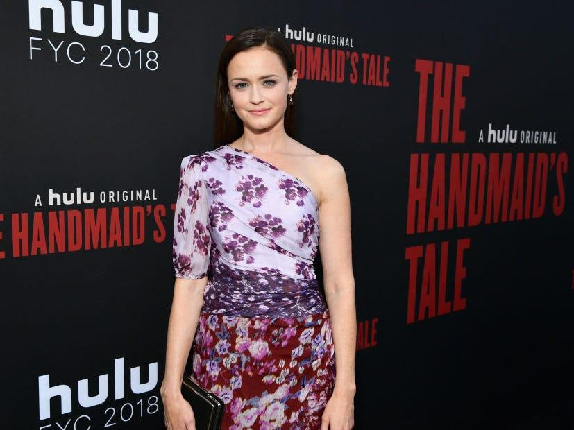 "Alexis Bledel attends ""The Handmaid's Tale'"" Hulu finale event in 2018. <p class=""copyright"">Emma McIntyre/Getty Images</p>"