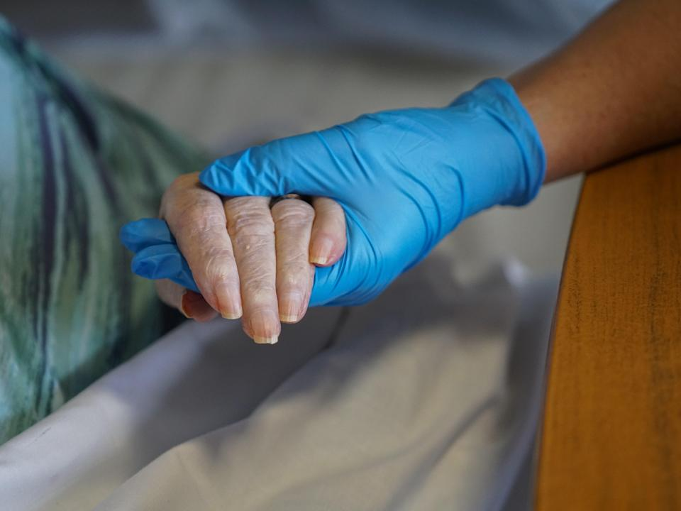 The discharging of elderly hospital patients into care homes without testing for Covid was 'one of the biggest tragedies last year' (Getty)