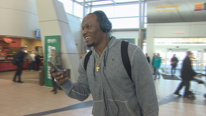 Stars arrive in Regina for 1st CFL week