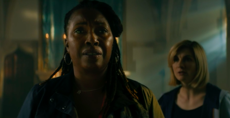 Jo Martin and Jodie Whittaker in the latest episode of Doctor Who