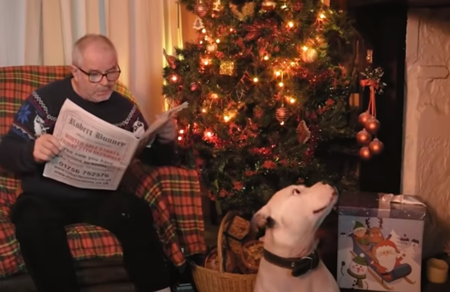 A man has made an alternative John Lewis advert for charity. (Sam Clegg via YouTube)