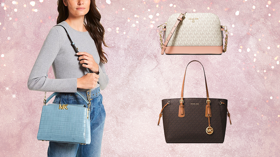 Save up to 25% off full price items right now during the Michael Kors fall sale.