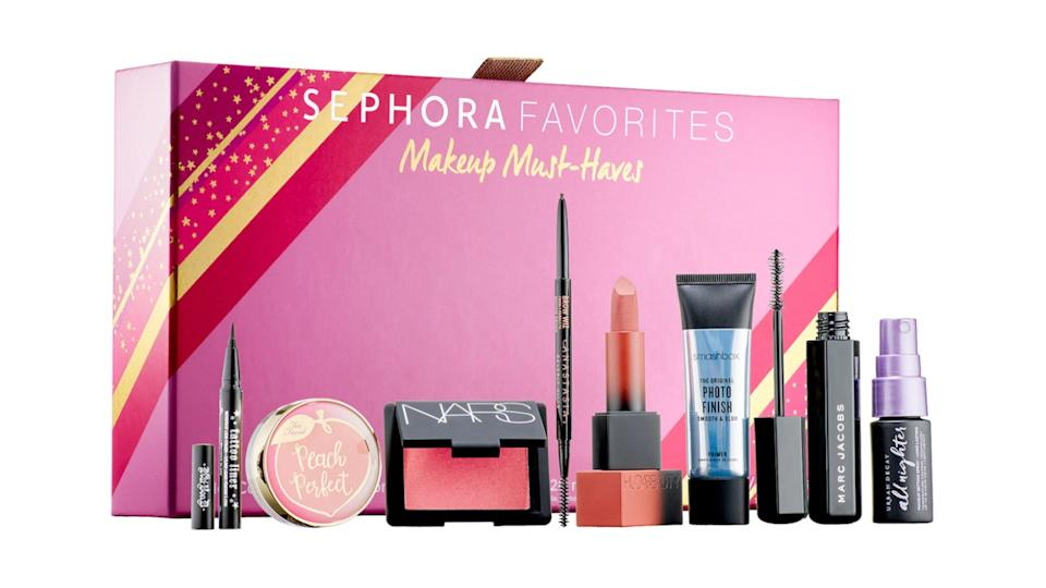 Best gifts for makeup lovers: Sephora Favorites Makeup Must-Haves