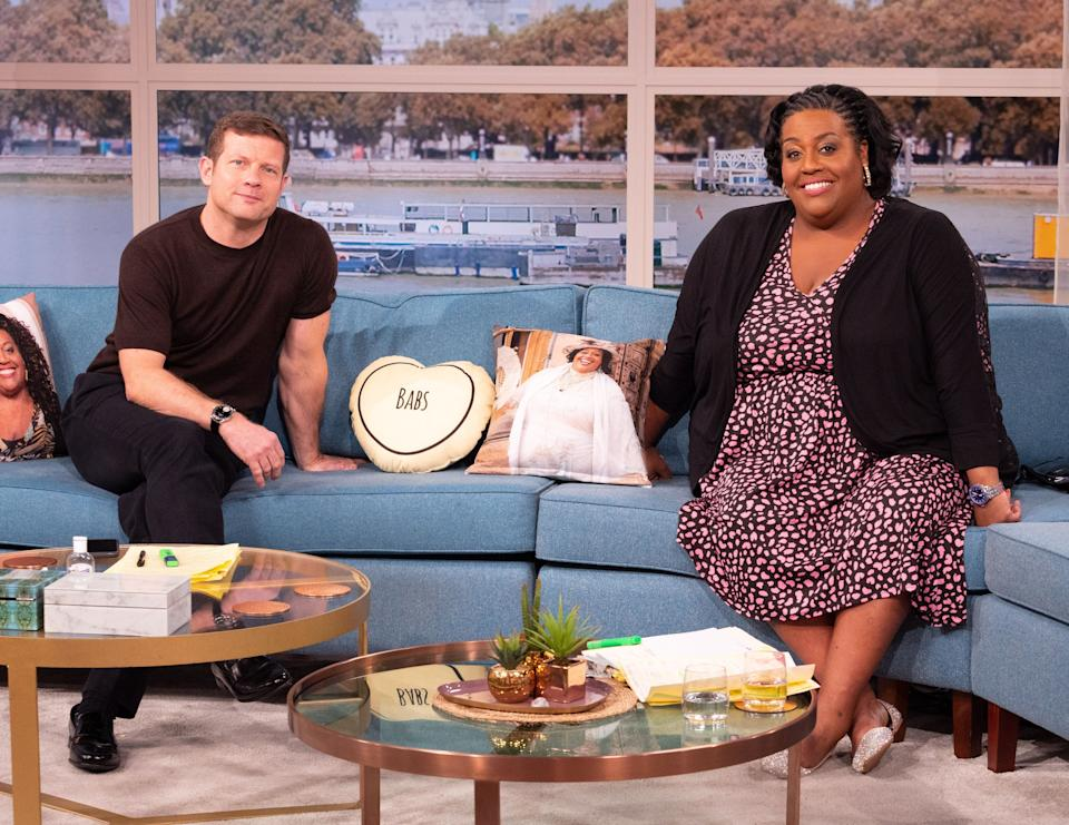 Dermot O'Leary and Alison Hammond (Photo: Ken McKay/ITV/Shutterstock)