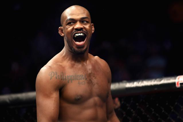 Jon Jones needs to show personal growth for a lot of years to be fully accepted by his peers as well as by the fan base. (Getty Images)