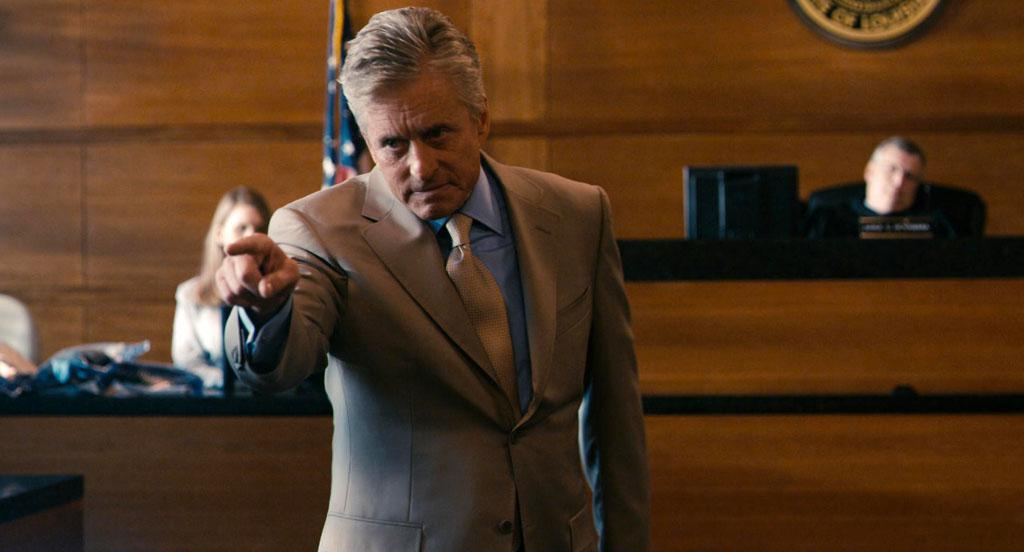 """<a href=""""http://movies.yahoo.com/movie/contributor/1800012782"""">Michael Douglas</a> in Anchor Bay Entertainment's <a href=""""http://movies.yahoo.com/movie/1810003148/info"""">Beyond a Reasonable Doubt</a> - 2009"""