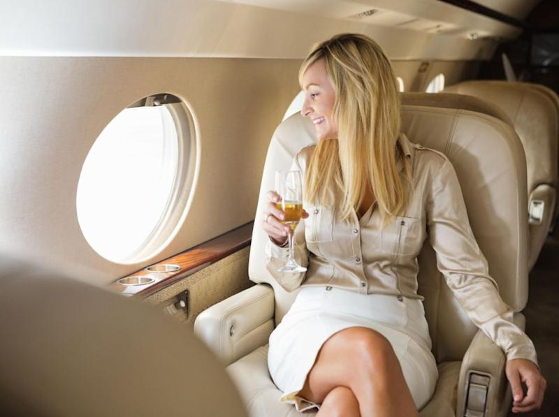 If economy is full you'll end up in business or first class. Photo: Getty