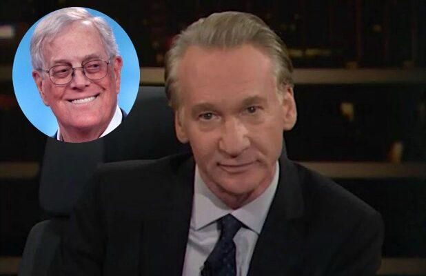 Bill Maher: I'm 'Glad' David Koch Is Dead, 'And I Hope the End Was Painful' (Video)