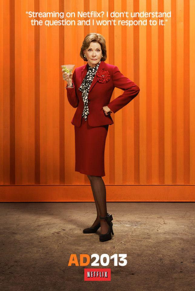 "Jessica Walter as Lucille Bluth on ""Arrested Development"" Season 4."