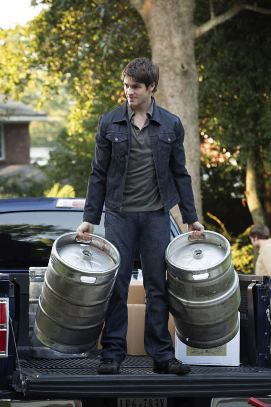 "Steven R. McQueen as Jeremy in ""My Brother's Keeper,"" the seventh episode of ""The Vampire Diaries"" Season 4."