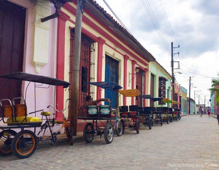 The quiet streets of Camaguey