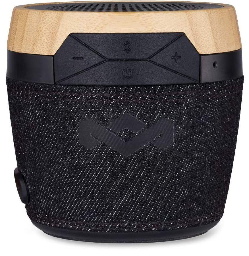 """<p><strong>House of Marley</strong></p><p>amazon.com</p><p><strong>$69.99</strong></p><p><a href=""""https://www.amazon.com/dp/B01DKGP2R6?tag=syn-yahoo-20&ascsubtag=%5Bartid%7C10054.g.30645451%5Bsrc%7Cyahoo-us"""" rel=""""nofollow noopener"""" target=""""_blank"""" data-ylk=""""slk:Buy"""" class=""""link rapid-noclick-resp"""">Buy</a></p><p>Tiny with big sound, House of Marley's Chant will be a vast improvement on propping up a smartphone in a glass to listen to your playlists. You can thank the sustainable materials that went into its construction for that natural-looking exterior. </p>"""