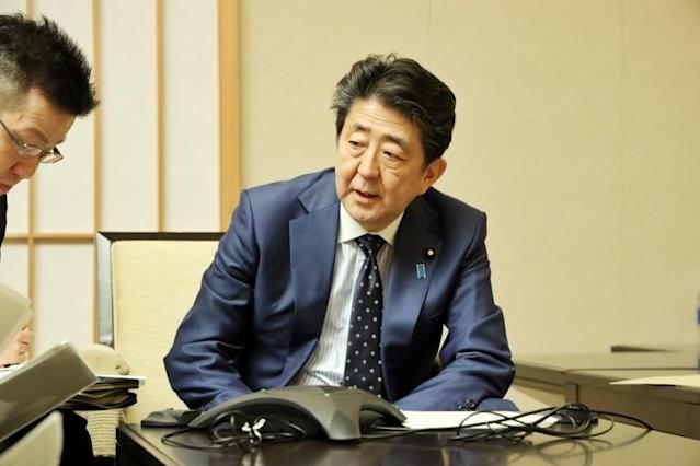 日本首相安倍晉三(Photo Credit:Prime Minister's Office of Japan Facebook)