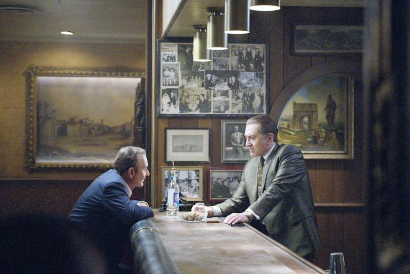 Joe Pesci and Robert De Niro in 'The Irishman' (Photo: Netflix / courtesy Everett Collection)