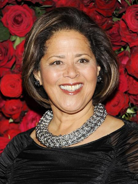 FILE - This Nov. 15, 2011 file photo shows actress Anna Deavere Smith at The Museum of Modern Art Film Benefit tribute to Pedro Almodovar in New York. The Gish Prize Trust announced Friday, Jan. 18, 2013 that Smith has been selected to receive the 19th annual Dorothy and Lillian Gish Prize. The prize, given annually as a legacy from the legendary film and stage actresses, will be awarded on Feb. 13. (AP Photo/Evan Agostini)