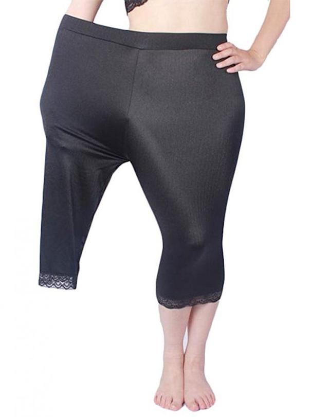 Why is this model selling plus-size clothing? (Photo: Arrive Guide/Amazon)