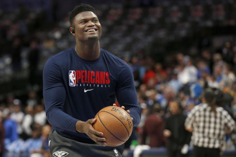 Pelicans Place Zion Williamson In Starting Lineup Vs Utah