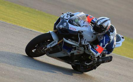 SERT Team's Sylvain Guintoli of France takes a curve during the Endurance FIM World Championship