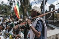 Militiaman Tesfahun Mande strolled through the streets of Gondar yelling chants in praise of Amhara fighters who took on the TPLF