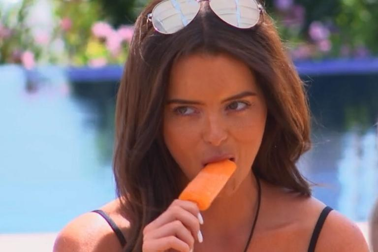 Love Island fans slam Maura Higgins' 'suggestive' behaviour as she sucks an ice lolly in front of Tommy Fury
